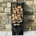 Victorian-Black-Dual-Fuel-Log-Holder